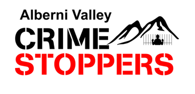 The logo for AlberniValleyCrimeStoppers